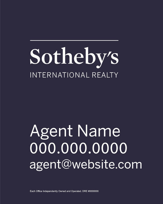 Sotheby's International Realty 24x30 Panel (SIR-2430-1)