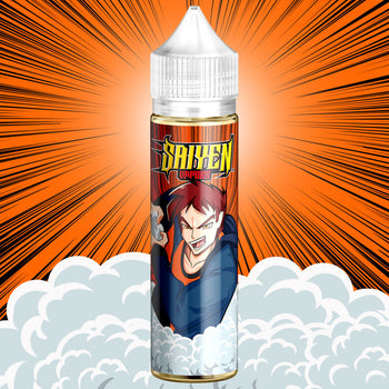 Dragon | Saiyen Vapors | Mangue Orange Ananas Frais | 50 ml