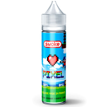 Pixel | Swoke | Fraise Cactus Fruit du Dragon Goyave | 50 ml