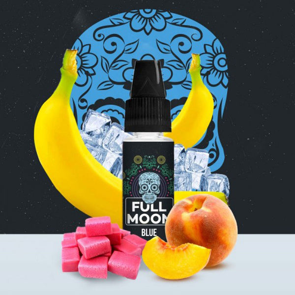 Concentré Blue | Full Moon | Peche Banane Bubble-Gum | 10 ml