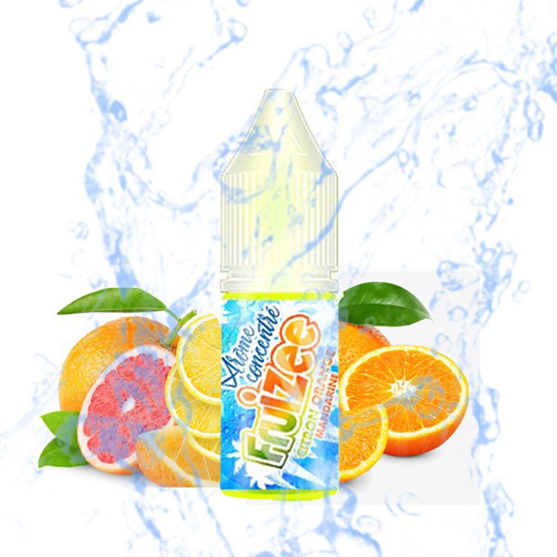 Concentré Citron Orange Mandarine | Fruizee | 10 ml