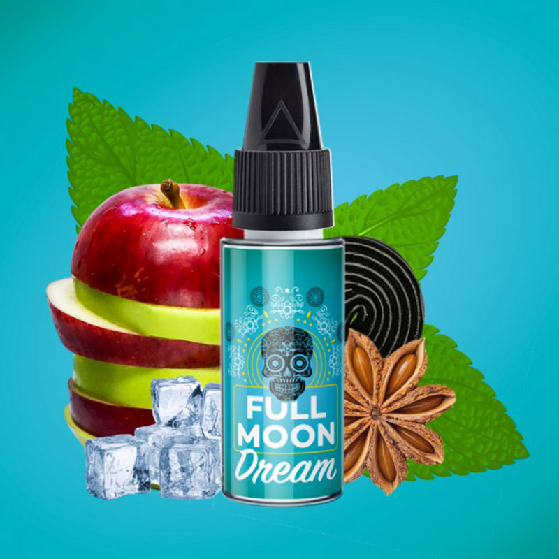 Concentré Dream | Full Moon | Pomme Réglisse Anis | 10 ml