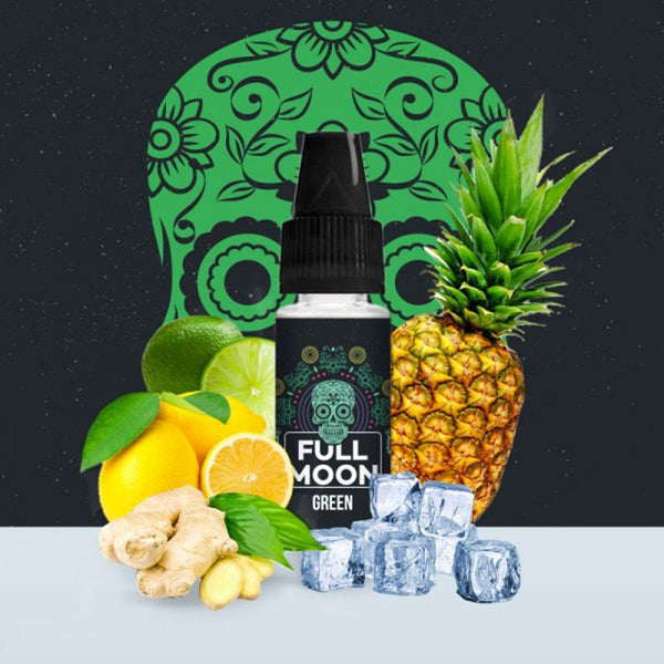 Concentré Green | Full Moon | Citon Citron Vert Ananas Gingembre | 10 ml