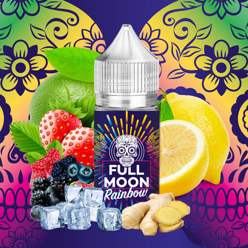Concentré Rainbow | Full Moon | Citon Gingembre Fruits Rouges | 30 ml