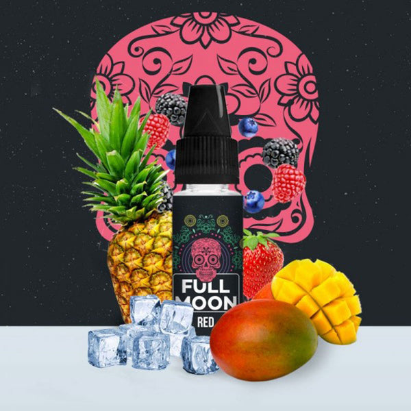 Concentré Red | Full Moon | Mangue Ananas Fruits Rouges | 10 ml