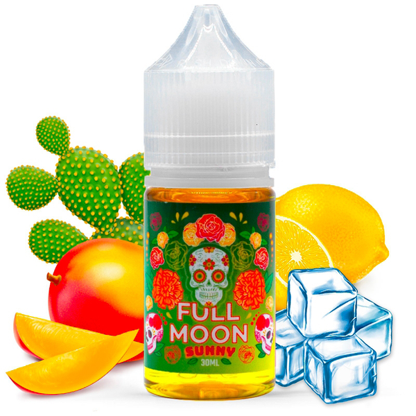 Concentré Sunny Full Moon Mangue - Citron - Cactus - Frais 30 ml