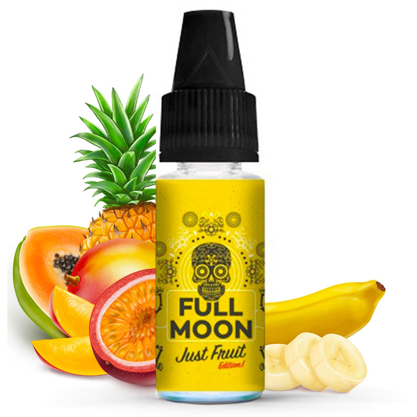 Concentré Yellow Just Fruit No Fresh Full Moon Fruits exotiques Banane 10 ml