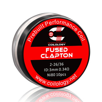 Pack de 10 Coils Fused Clapton | Coilology