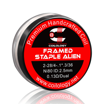 Pack de 2 Coils Framed Staple Alien | Coilology