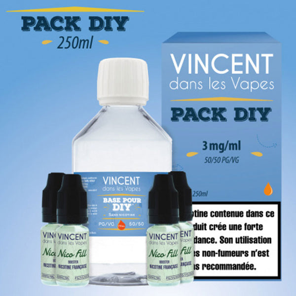 Pack DIY | VDLV| 50/50 | 250 ml