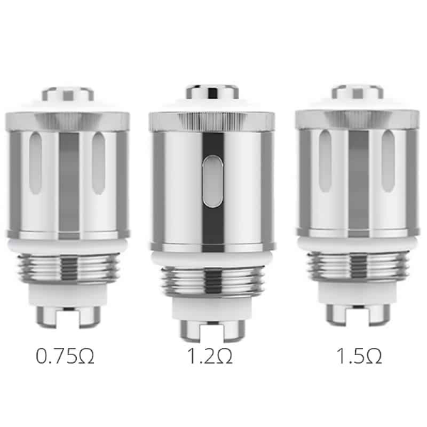 Résistances GS air ELEAF 0.75 ohm 1.2 ohm 1.5 ohm