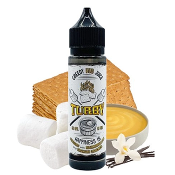 Turby | Greedy Hub Juice | Vanille Custard - Marshmallow - Graham Cracker | 50ml