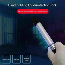 Load image into Gallery viewer, HBCZ Portable UV Sanitizer Wand, Handheld Waterproof UV Lamp Sterilizer, Travel Size Air Purifier