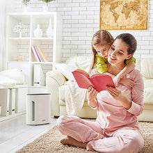 Load image into Gallery viewer, Pure Enrichment PureZone 3-in-1 Air Purifier - True HEPA Filter & UV-C Sanitizer Cleans Air & Eliminates Common Airborne Allergens - Ideal for Dust, Pet Hair, Smoke & More — For Home, Office & Bedroom