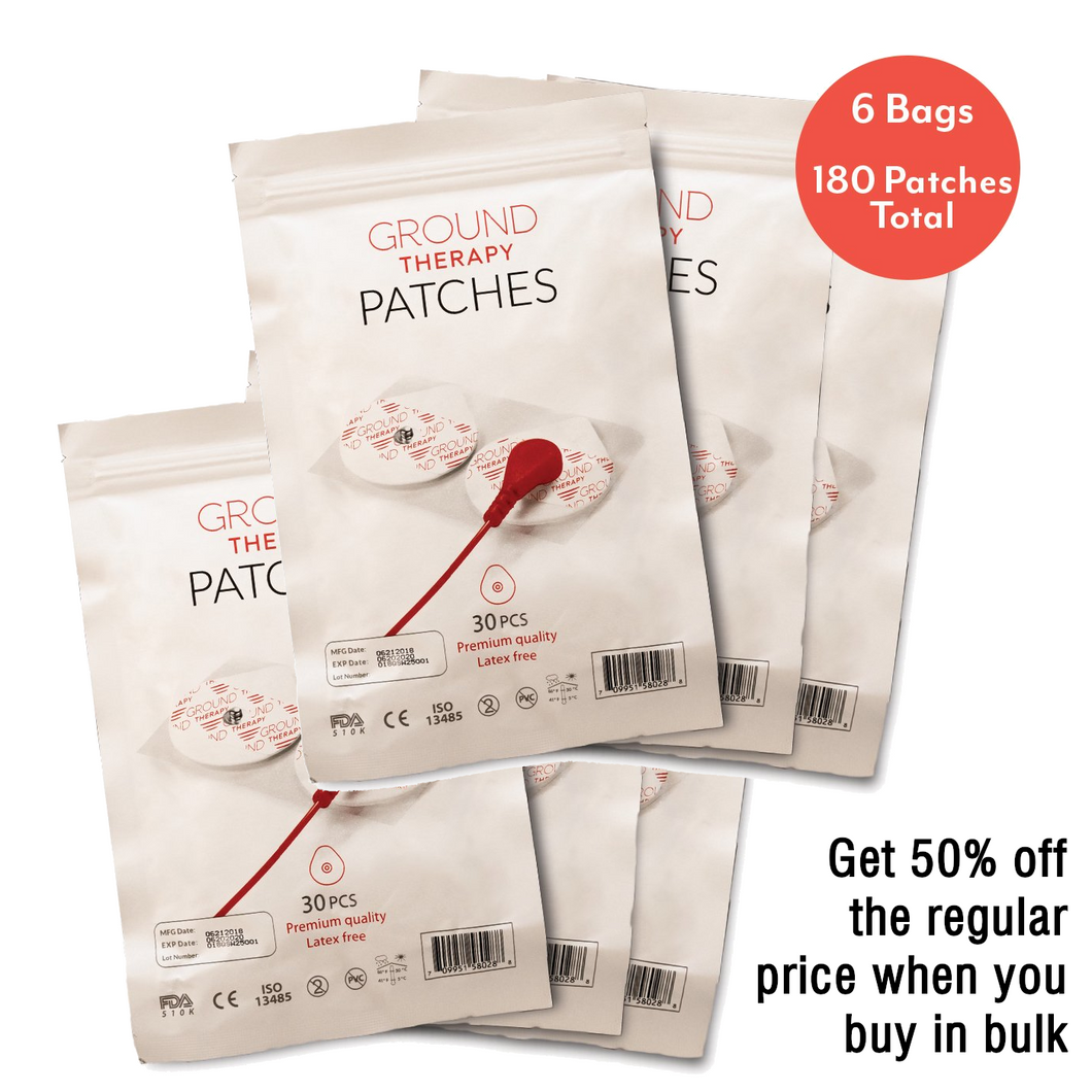 Ground Therapy™ Body Patches (Count of 180)