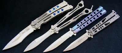 How to butterfly knife