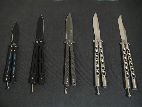 Where are balisongs legal ?