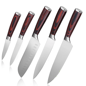Kitchen Knife Set <br> 5Pcs German Steel