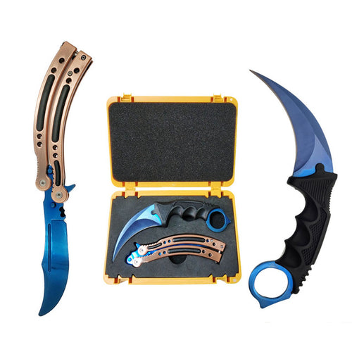 Butterfly Knife & Karambit Light Blue