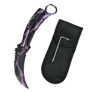 Karambit Purple Thunder