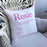 Kids Dictionary Cushion
