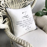 Words Cushion