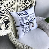 Mum Dictionary Cushion