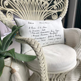 Handwriting Cushion