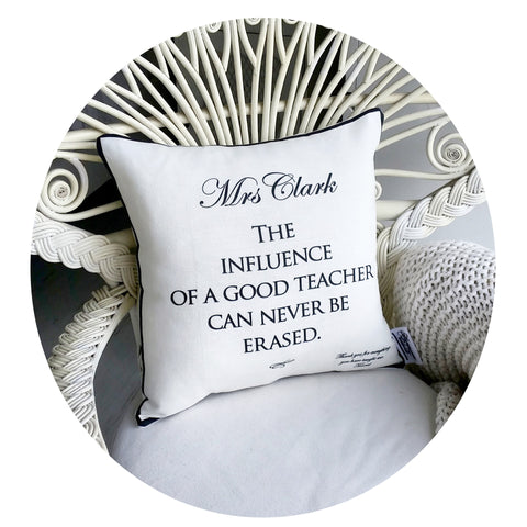 Influence of a Teacher Cushion