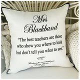 Teachers Quote Cushion