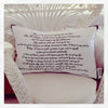 Vows Cushion - Perfect 2nd Wedding Anniversary Gift (Cotton)