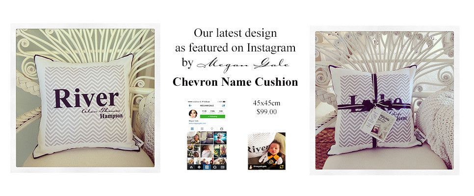 Baby Cushion, Personalised cushion for baby