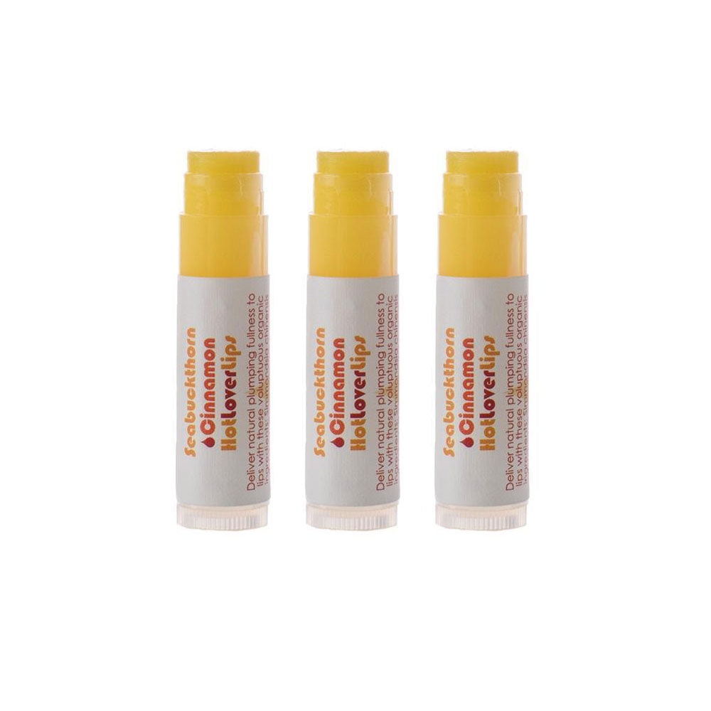 Seabuckthorn Cinnamon Hot Lover Lips, 5ml, 3 PACK