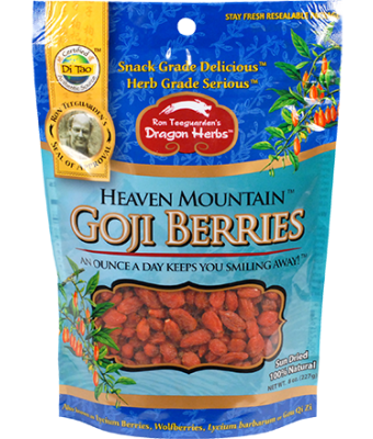 Dragon Herbs Heaven Mountain Goji Berries 8 oz