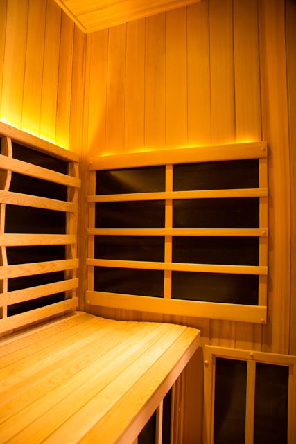 Clearlight Sanctuary Y: Full Spectrum Four Person Infrared Sauna And Hot Yoga Room