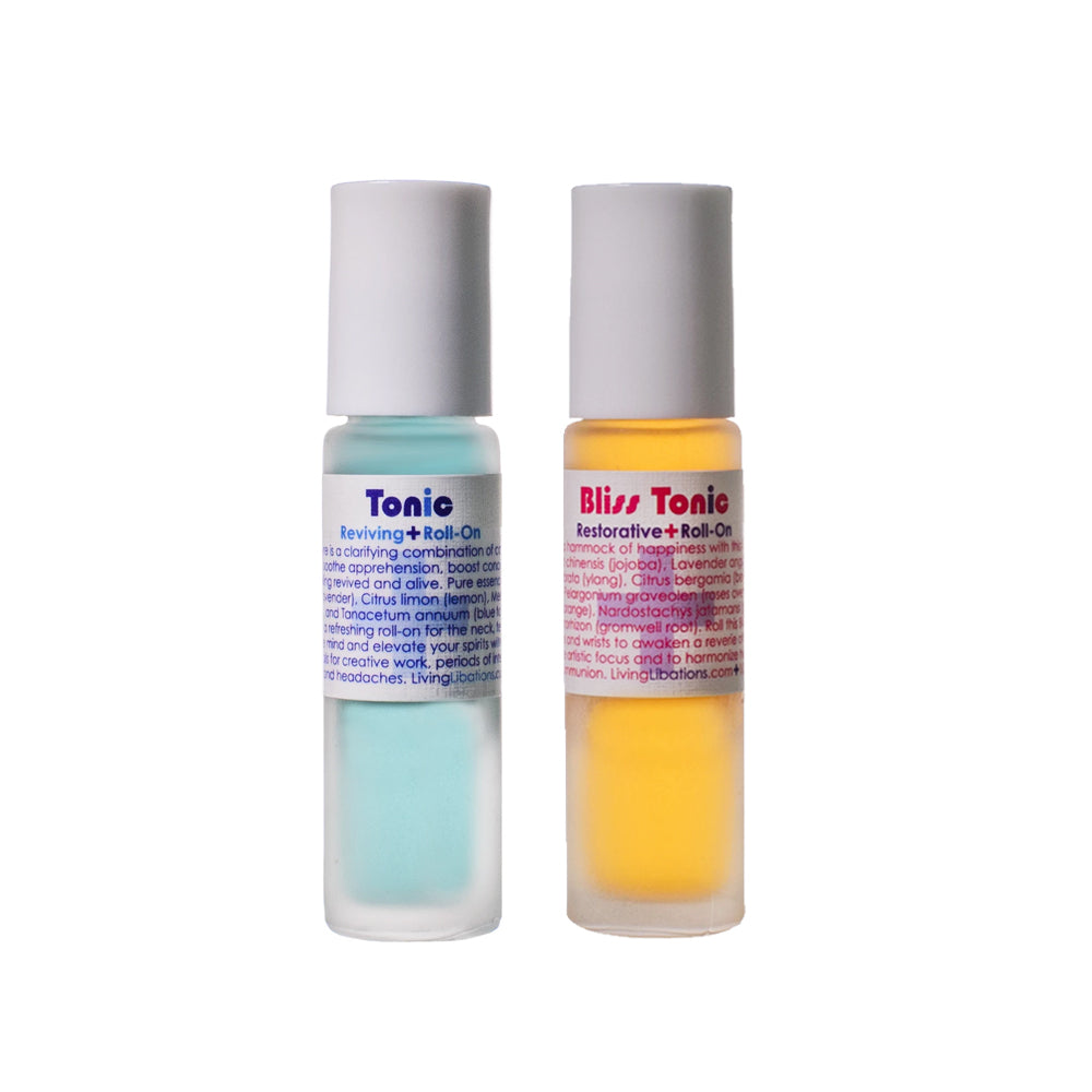 Bliss + Reviving Tonic Roll-On, 2 Pack