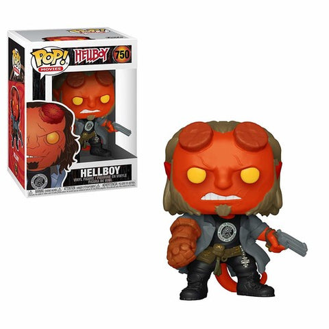FUNKO POP! MOVIES: Hellboy - Hellboy w/ BPRD Tee (Vinyl Figure)