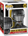 FUNKO POP! STAR WARS: Rise of Skywalker - Knight of Ren Scythe (Hematite Chrome) (Vinyl Figure)