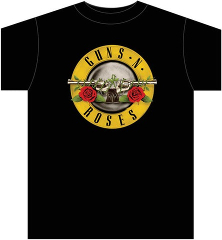 Guns N' Roses Bullet Logo T-Shirt (Small)
