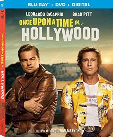 Once Upon a Time In...Hollywood (Blu-Ray, DVD, and Digital)