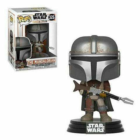 FUNKO POP! STAR WARS: The Mandalorian - The Mandalorian Bobble-Head (Vinyl Figure)