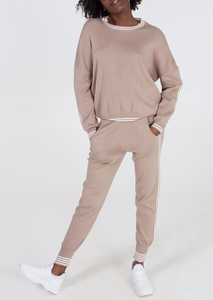 Stripe Stone Jumper and Jogger Set