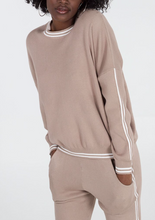 Load image into Gallery viewer, Stripe Stone Jumper and Jogger Set