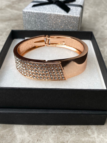 Rose Gold Sparkly Bracelet