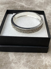 Load image into Gallery viewer, Silver Sparkly Bracelet
