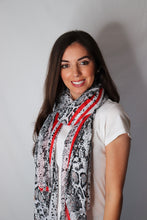 Load image into Gallery viewer, snake print scarf