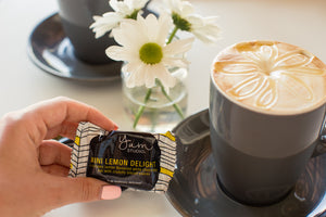 Mini Delights Chocolate Bar - Lemon 15g Ambient