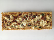 Load image into Gallery viewer, Quiche - Roasted Baby Tomato, Spinach, Feta (Long) 680g Frozen