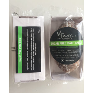 YumStudio Date Balls [No Added Sugar] 45g (Twinpack) Frozen