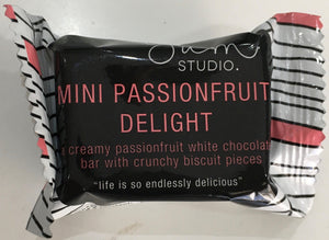 Mini Delights Chocolate Bar - Passionfruit 15g Ambient